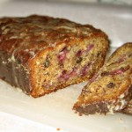 Banana Strawberry Coconut Loaf