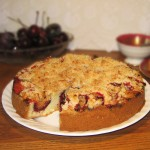 Cherry and Plum Cake