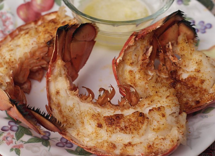 boiled-and-grilled-lobster