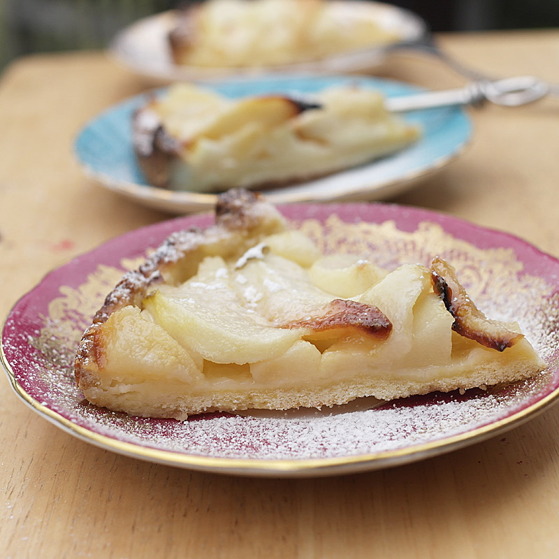 French-Pear-Flans