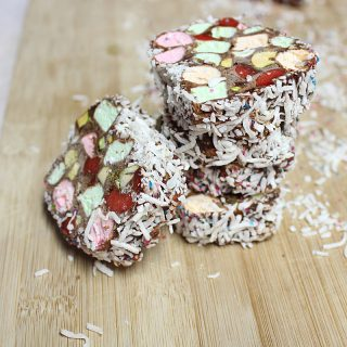 No-bake chocolate roll cookies