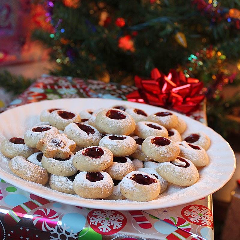 Kamut Thumbprint Cookies