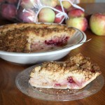 French Apple Cranberry Pie