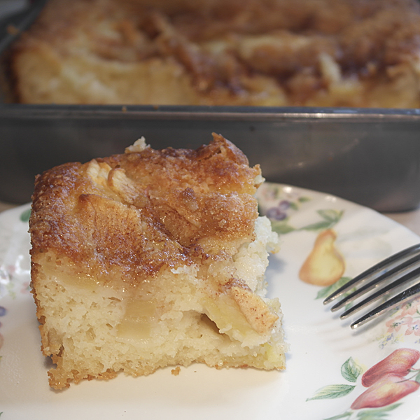 Easy Apple Cake • Urban Whisk