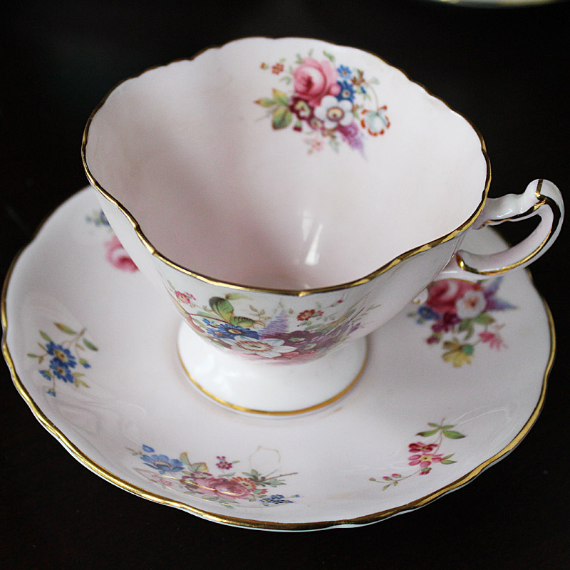 Hammersley & Co. Bone China Teacup and Saucer