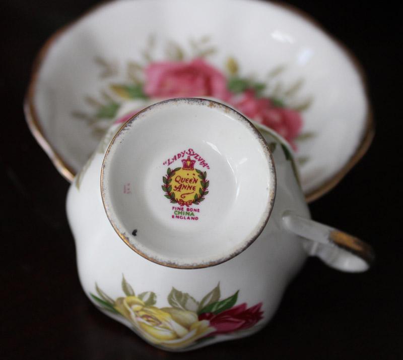 Lady-Sylvia bone china