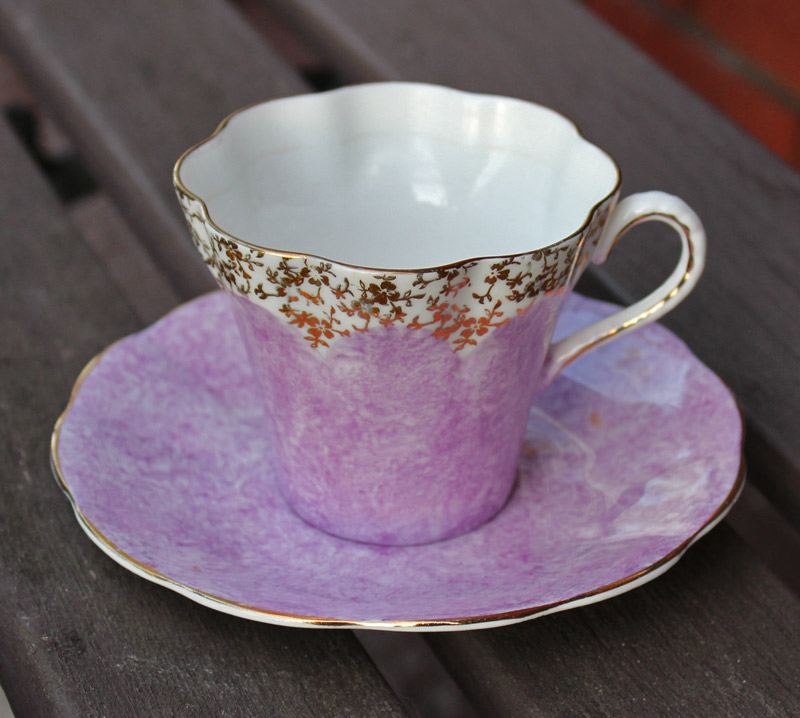Montrose Bone China Teacup and Saucer