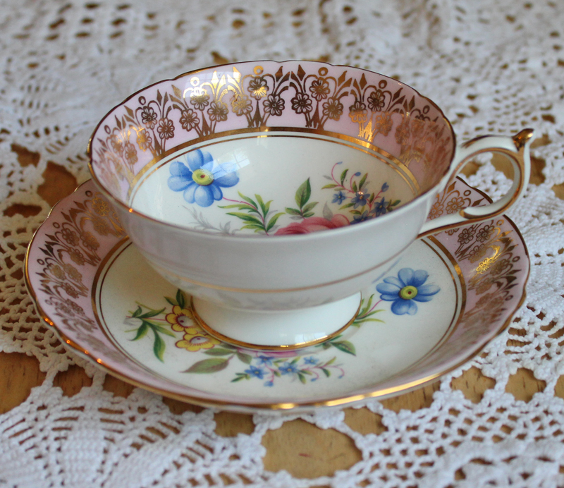 Paragon Bone China Teacup and Saucer