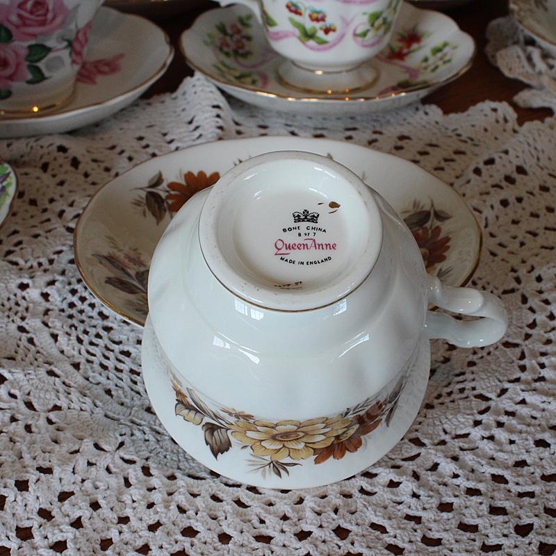Queen Anne Vintage Tea Cup