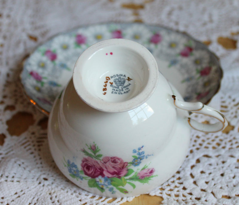 Rosina Bone China Cup and Saucer