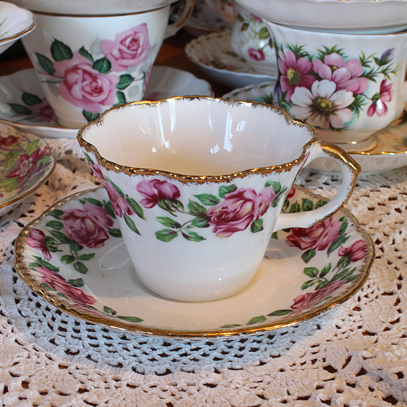 Salisbury Bone China Vintage Tea Cup