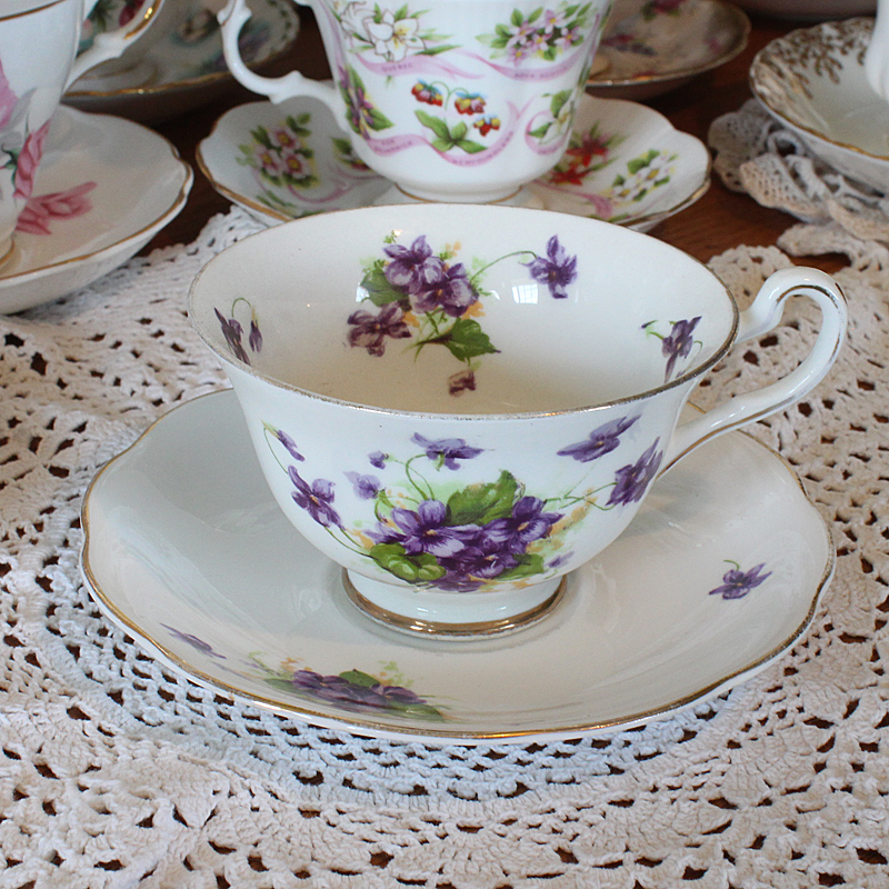 Trenton Bone China Vintage Tea Cup
