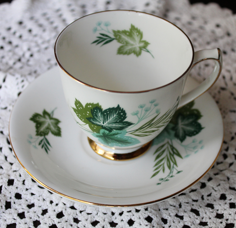 Elizabethan Bone China  Teacup and Saucer