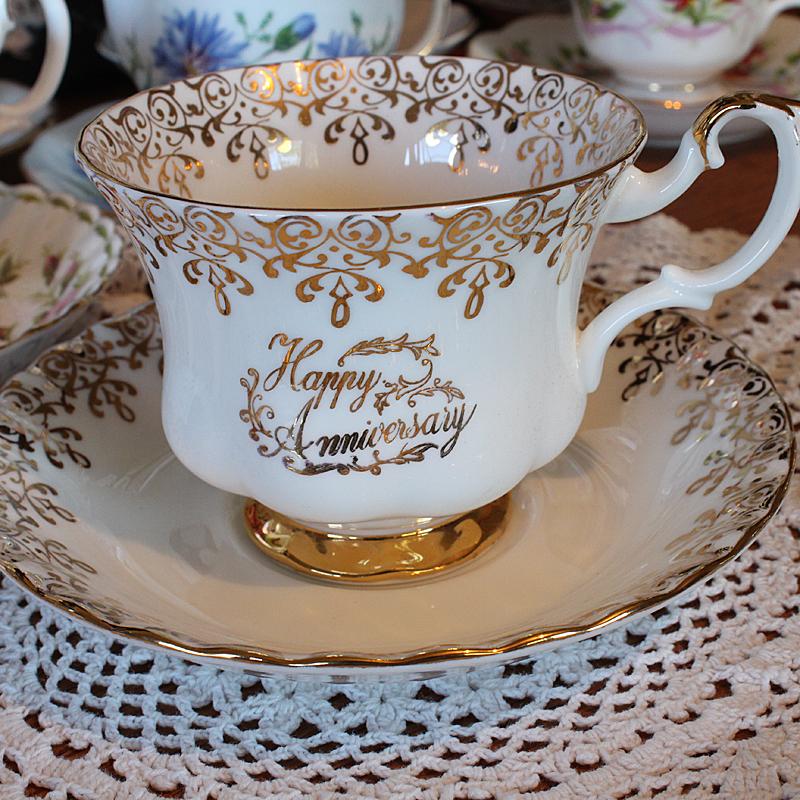 happy-anniversary bone china cup