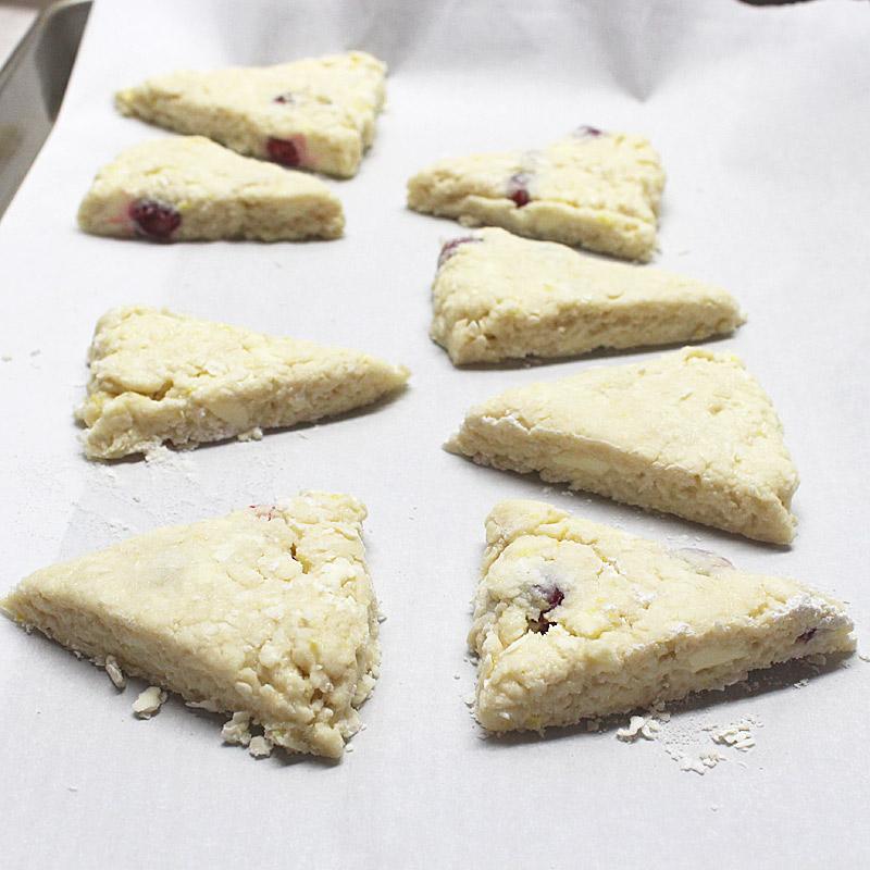 scone-wedges