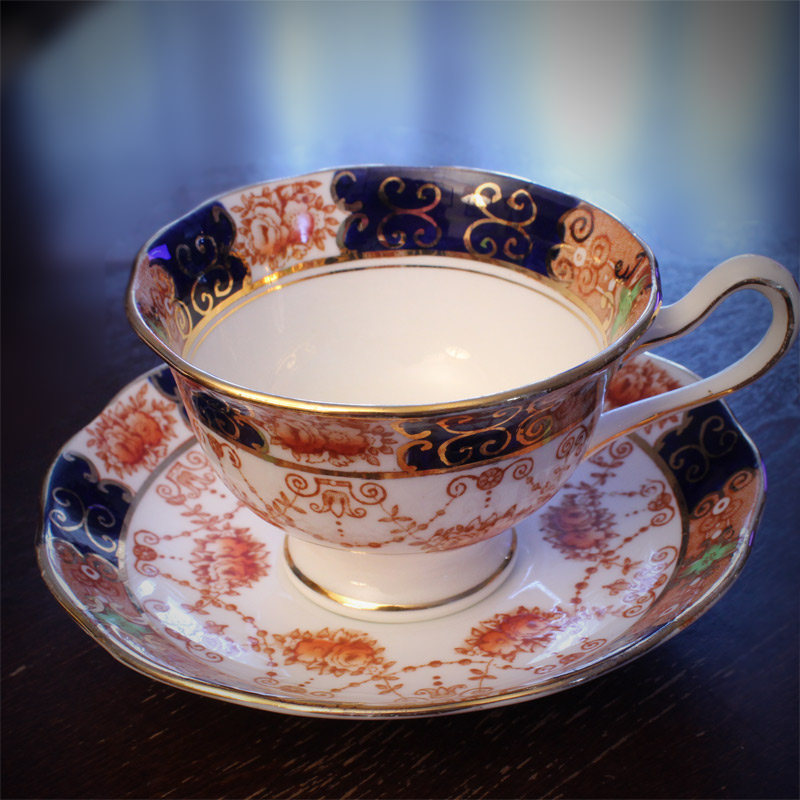 Royal Albert Crown China Teacup and Saucer
