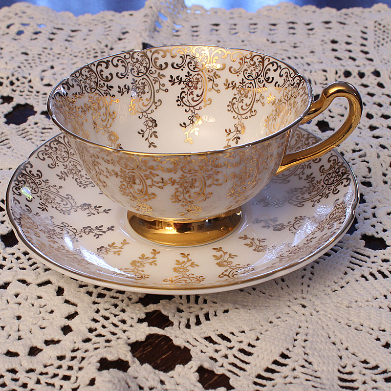 Royal Grafton Bone China Teacup and Saucer