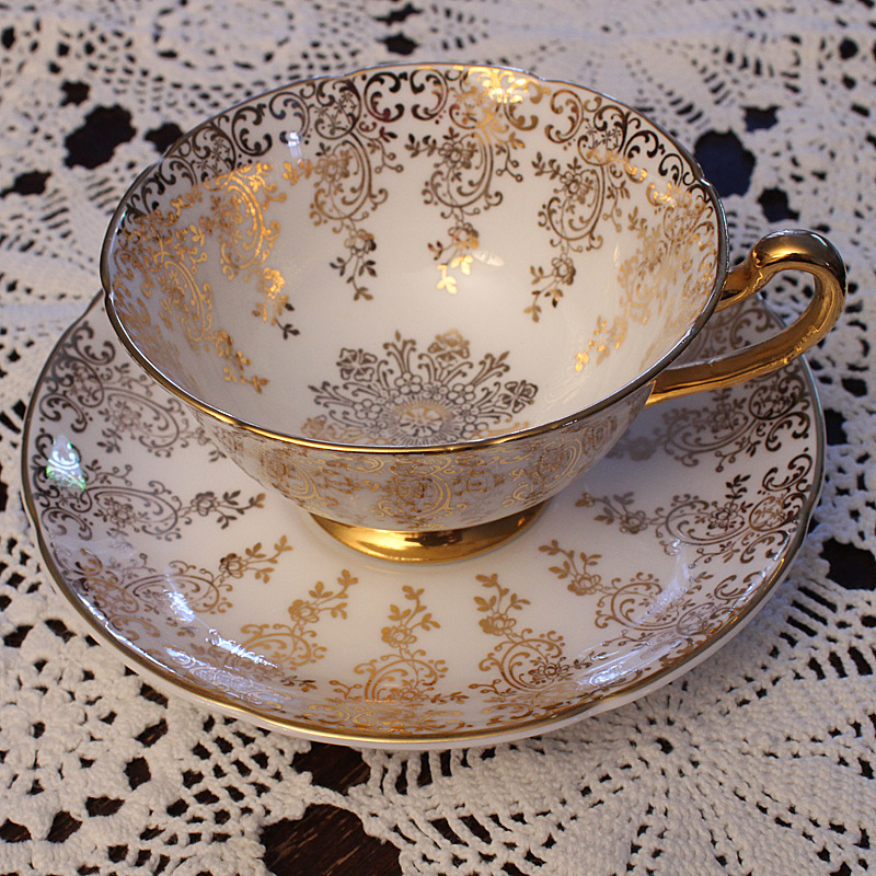 Royal Grafton Bone China Teacup and Saucer