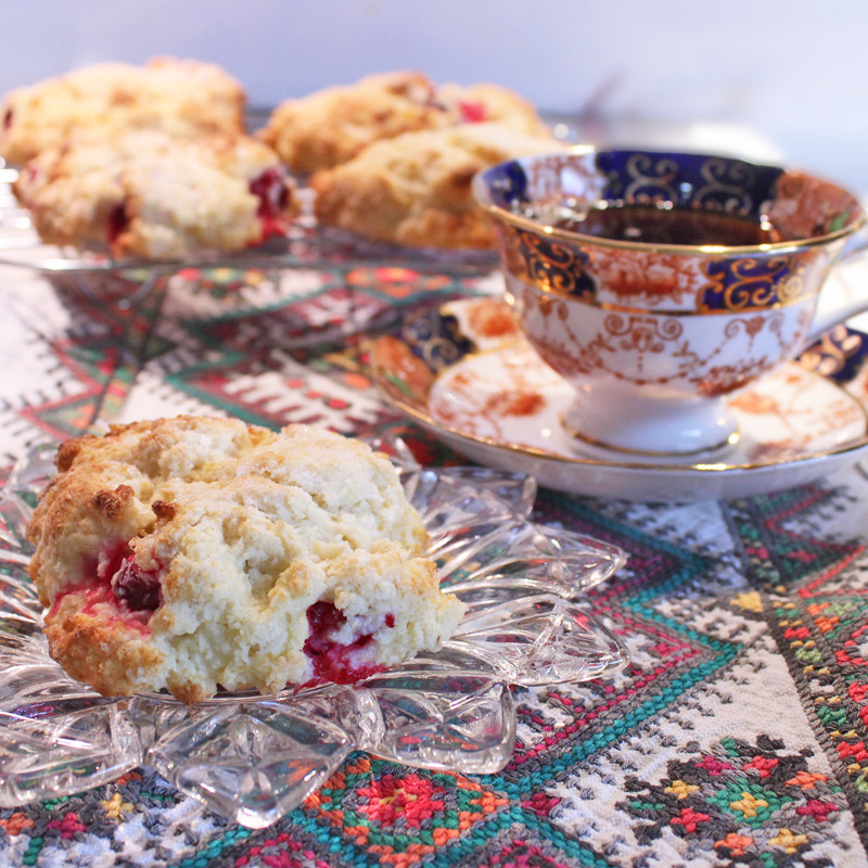 Cranberry-Tea-Buns