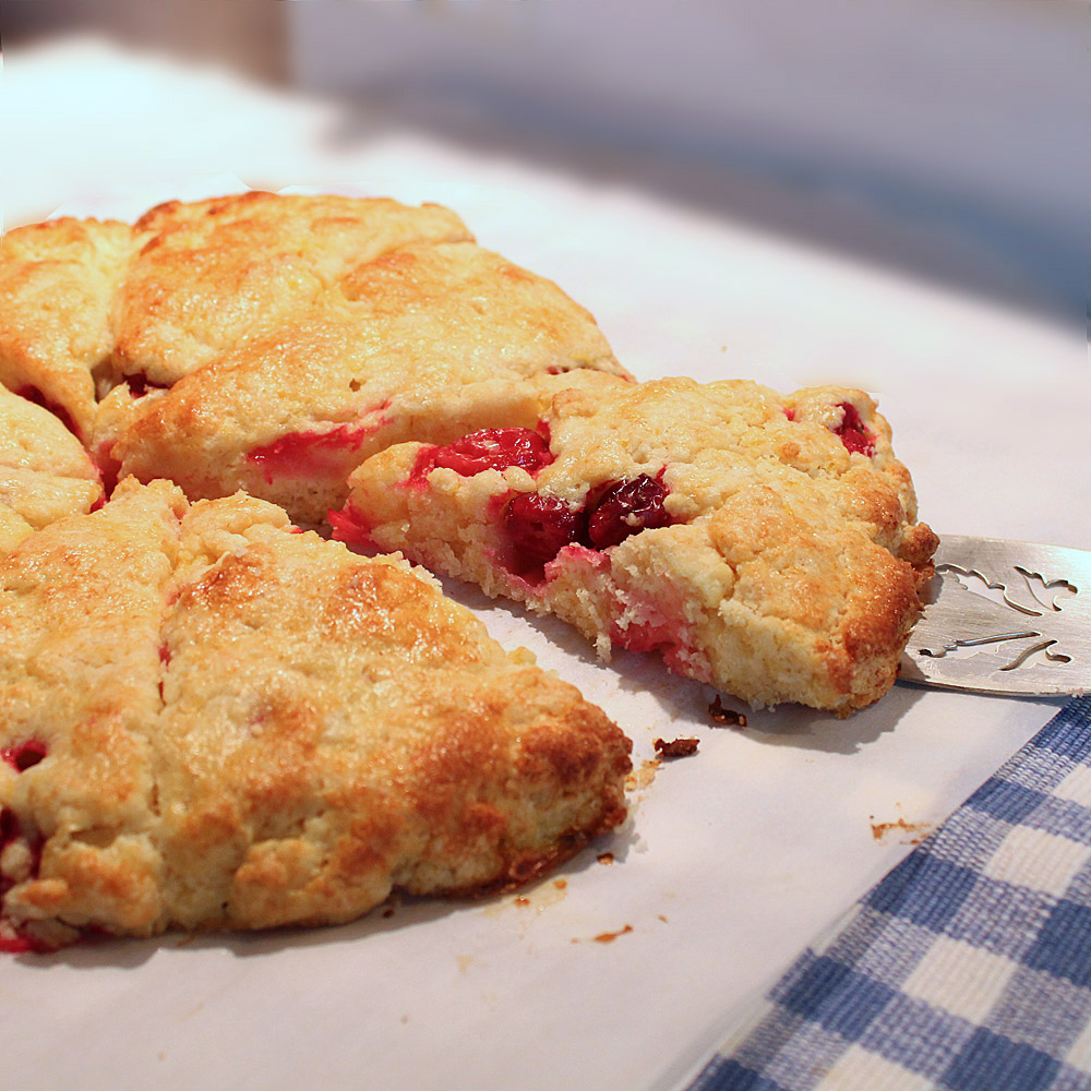 Orange-Cranberry-Scones