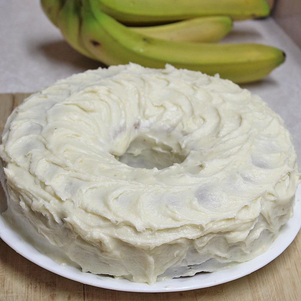 Banana Cake with Banana Frosting