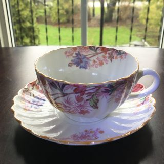 chelsea garden teacup and saucer