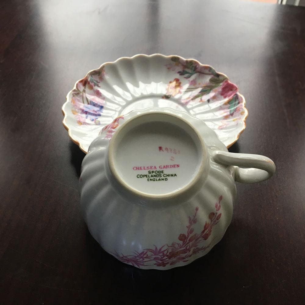 chelsea garden teacups