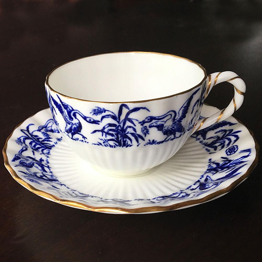 coalport china teacup and saucer